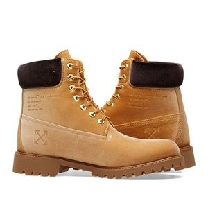 Off White x Timberland Boots